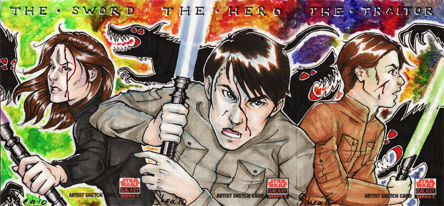 Sword - Hero - Traitor by sheastandefer
