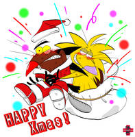 HAPPY CHRISTMAS 2006ver. by CRISIS1983