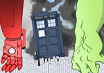 Doctor Who and the Avengers