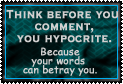 Think Before You Comment by World-Hero21