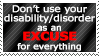 It's Not An Excuse by World-Hero21