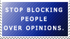 Stop getting butthurt over opinions. by World-Hero21