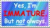 Not always immature by World-Hero21
