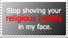 IDGAF ABOUT YOUR BELIEFS. by World-Hero21