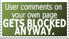 Stupid Block Reason #7: LEMME BE A RUDE ASSHOLE by World-Hero21