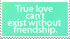 Request: True Love Can't Exist
