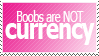 Request: Boobs are not currency by World-Hero21