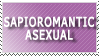 Sapioromantic Asexual by World-Hero21