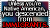 The US was built by immigrants.