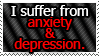 REQUEST: Anxiety and Depression
