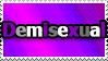 Demisexual