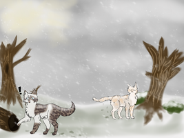 Assignment for Dawn-Of-Warriors | Snow by IceHasNoSanity