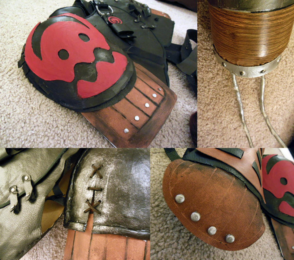 Older Hiccup Cosplay: Details by napallama