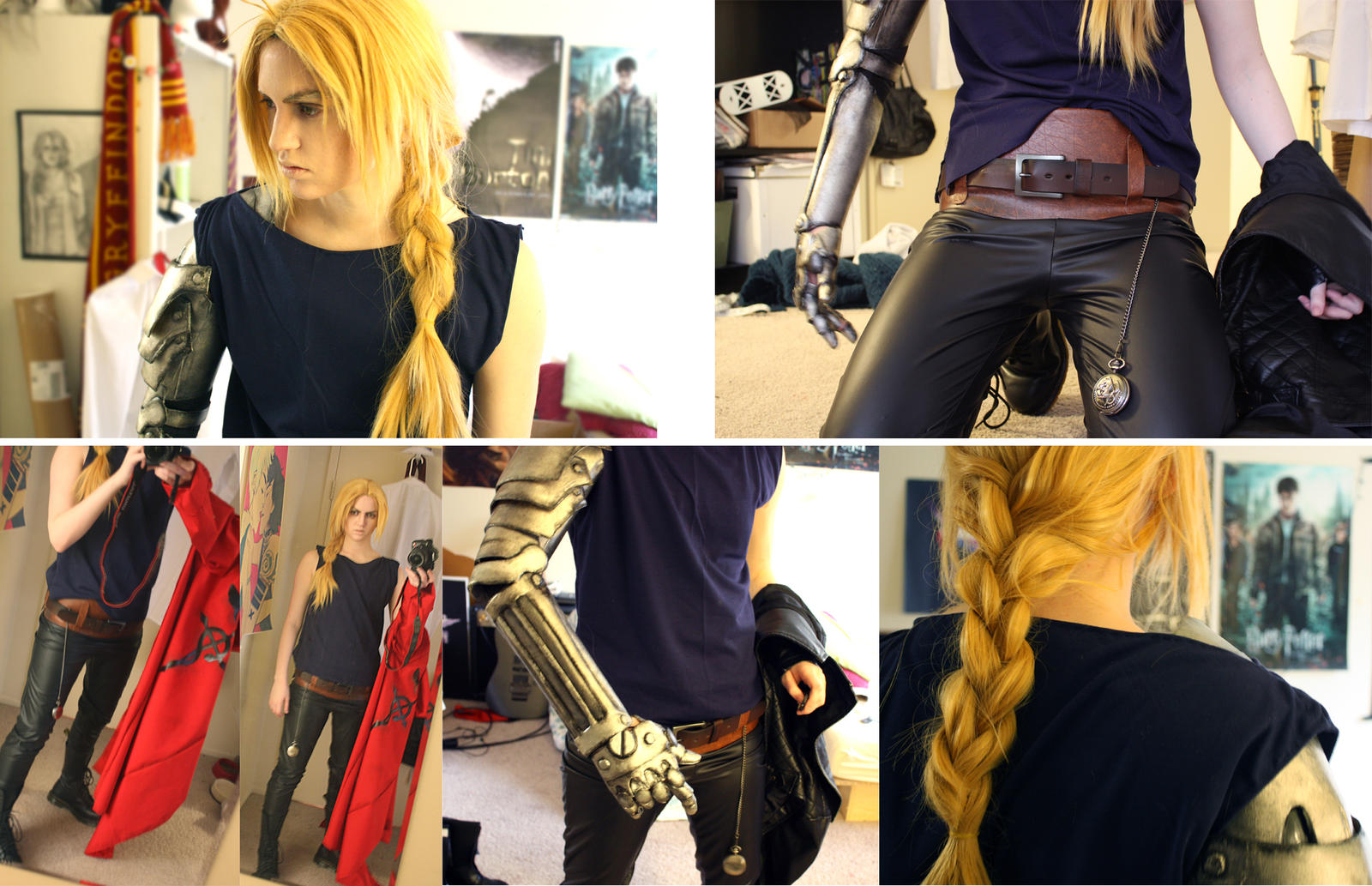Edward Elric Cosplay WIP by Napalm9