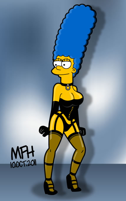 Marge Simpson by mej073
