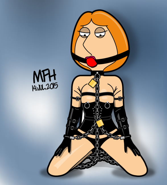 Lois in chains by mej073