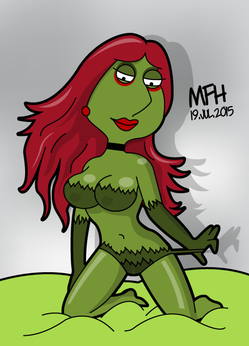 Lois Griffin as Poison Ivy by mej073
