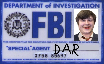Special Agent Dar by A-UNG