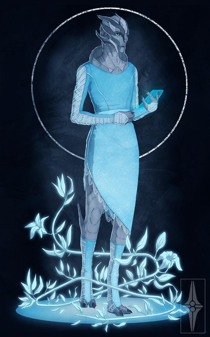 Dimia Erganesa, the mom of Sabi by Pyremoonshadow