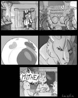 Don't touch the dragon's silverware by Pyremoonshadow