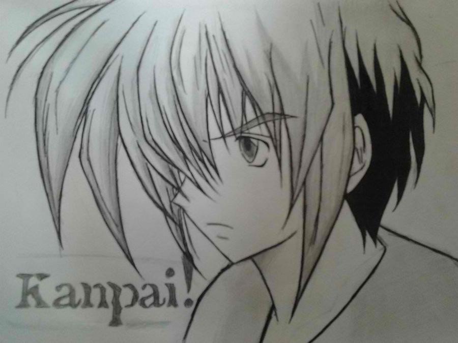 Anime Drawings - Anime Drawings By Vhonneo Yrb