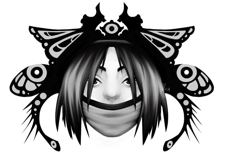 Samurai Butterfly by DawnZiarte