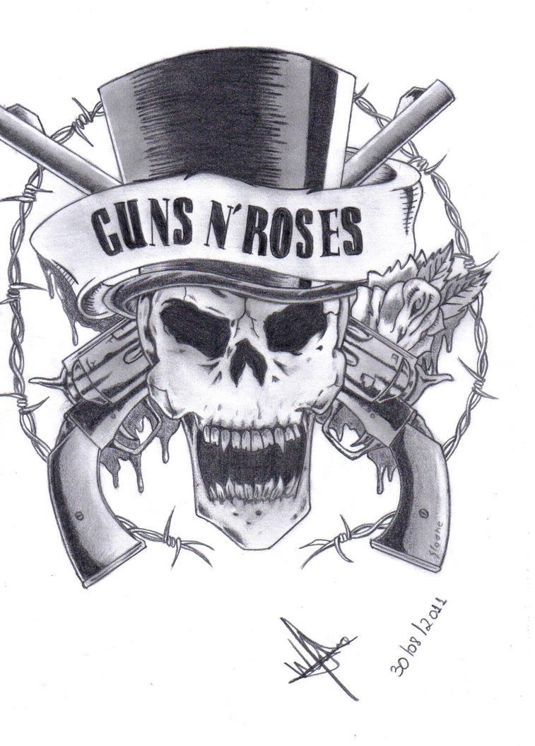 Guns n roses logo by xxmeneguimxx on deviantart guns n roses logo by xxmeneguimxx altavistaventures Gallery