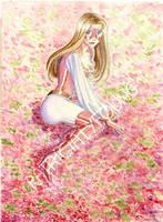 Fleurs de cerisiers by patriciaLyfoung