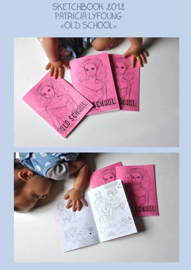 old school sketchbook 2012 by patriciaLyfoung
