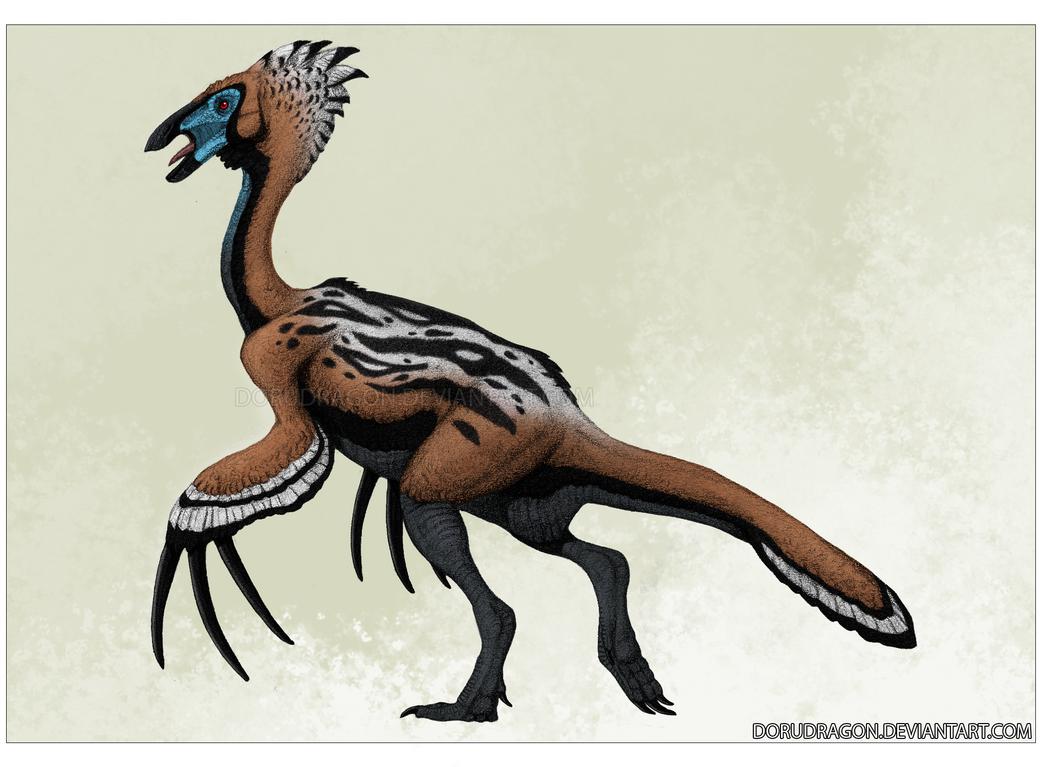 Therizinosaurus by DoruDrutt
