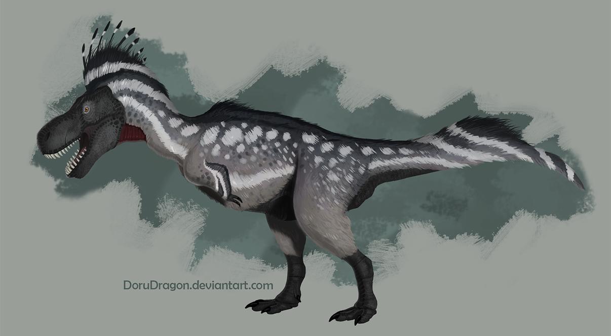 Tyrannosaurus by DoruDrutt