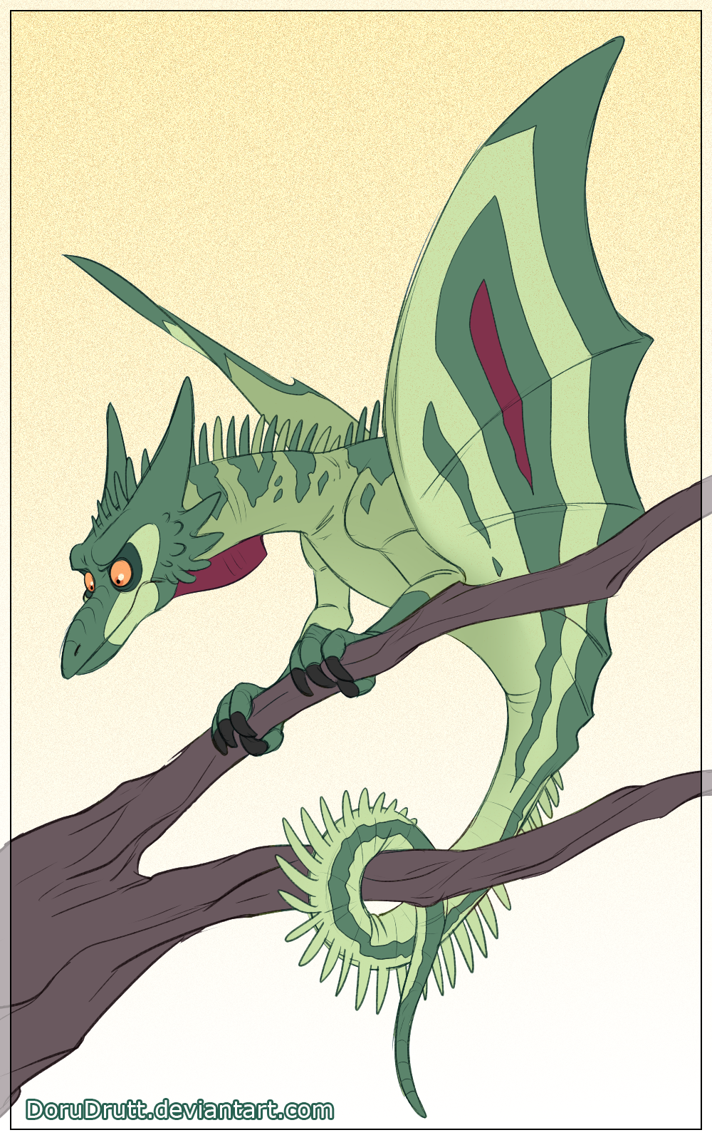 Lindworm Dragon: Lindworm By DoruDrutt On DeviantArt