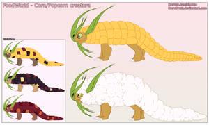 FoodWorld - Corn/Popcorn creature