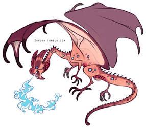 Random dragon by DoruDrutt