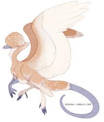 Polish chicken dragon