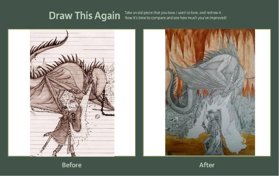 Drawn Again!~ by Aireane01