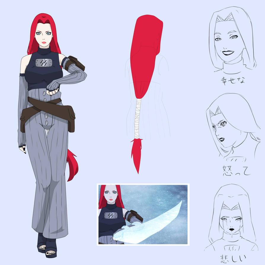 NARUTO OC sheet: Akane Kunieda by makibo031226 on DeviantArt