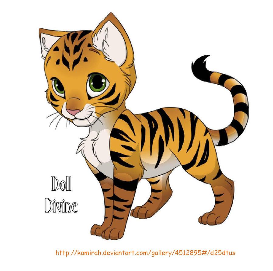 Cute Cartoon Tiger Drawing