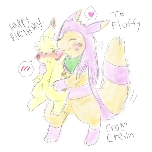 happy birthday by Creim
