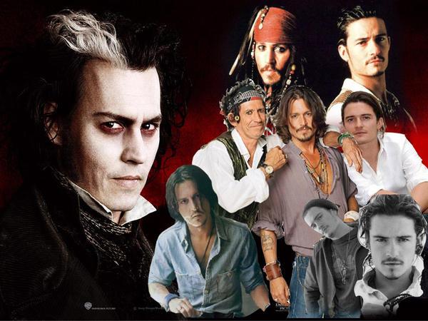 Johnny Depp, Orlando Bloom, By JadaBoom On DeviantArt