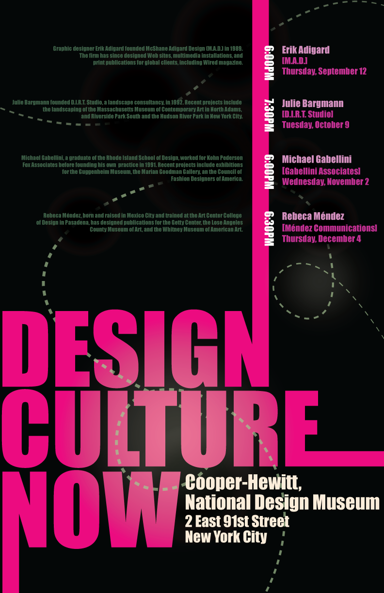 Poster design nyc - Design Culture Now Poster By Jessisharpe Design Culture Now Poster By Jessisharpe