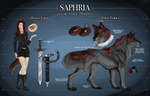 .: Saphira Reference :. by DEM0NIC-Spirit
