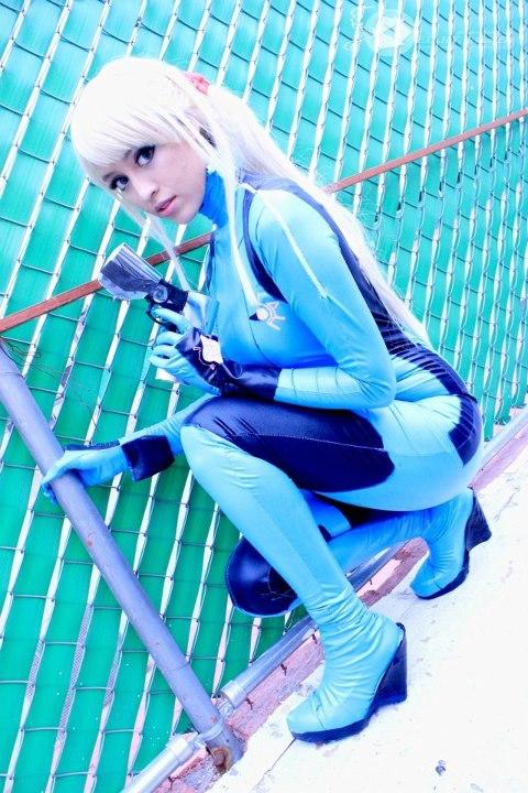 Samus Aran - Metroid Costum by HikariKosmaker