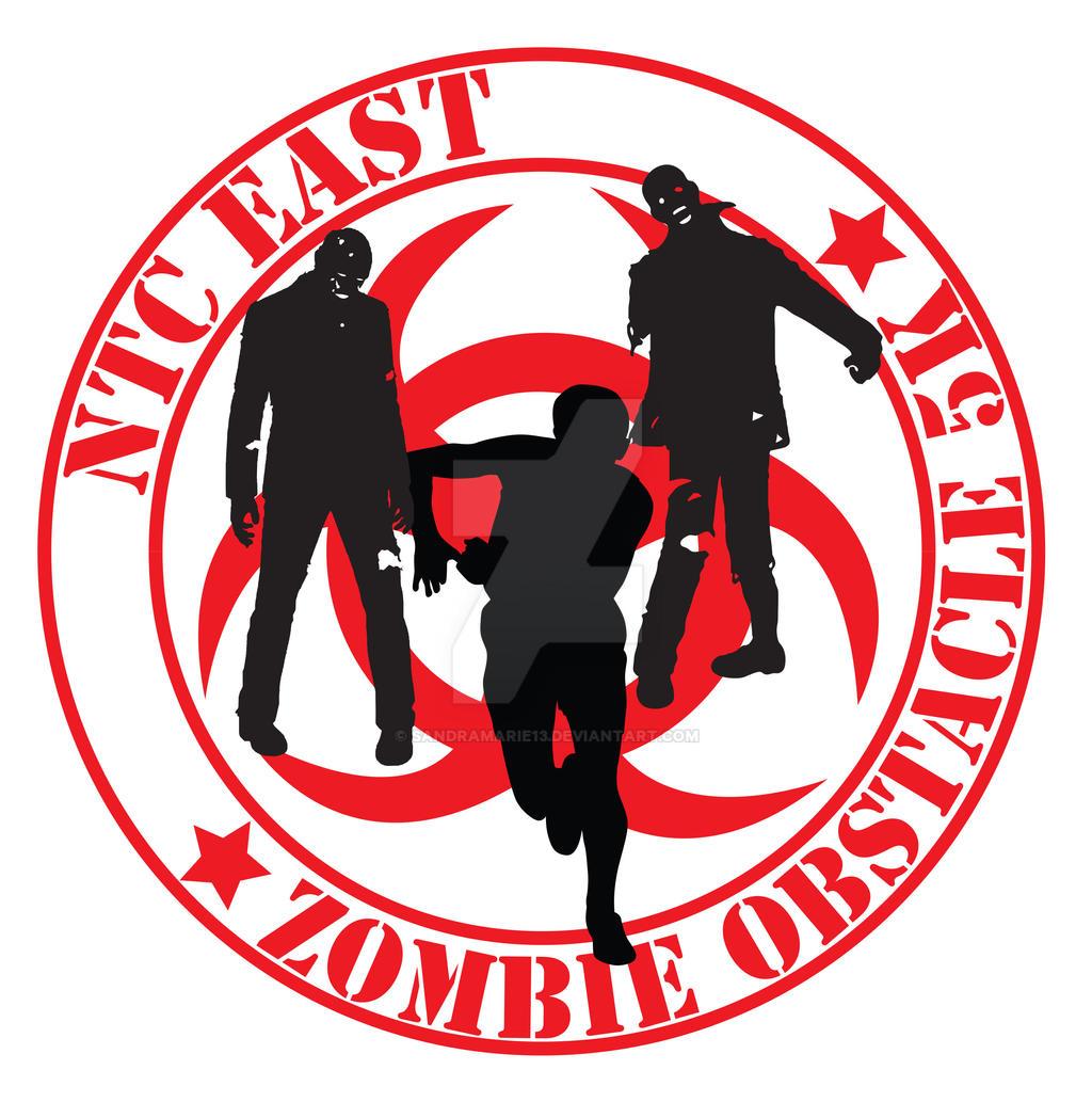 Zombie 5K logo by Sandramarie13