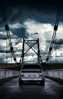On the bridge by 6ec