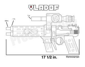 Blueprint for the Infinity Pistol