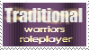 Traditional Warriors Roleplayer Stamp by Goldenfern