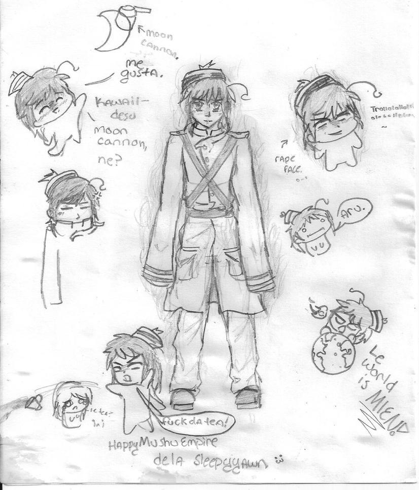 Sleepyyawn 8D Happy_mushu_sketches_by_goldenfern-d4osz4a