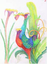 Swirly Bird by dontkickmycane