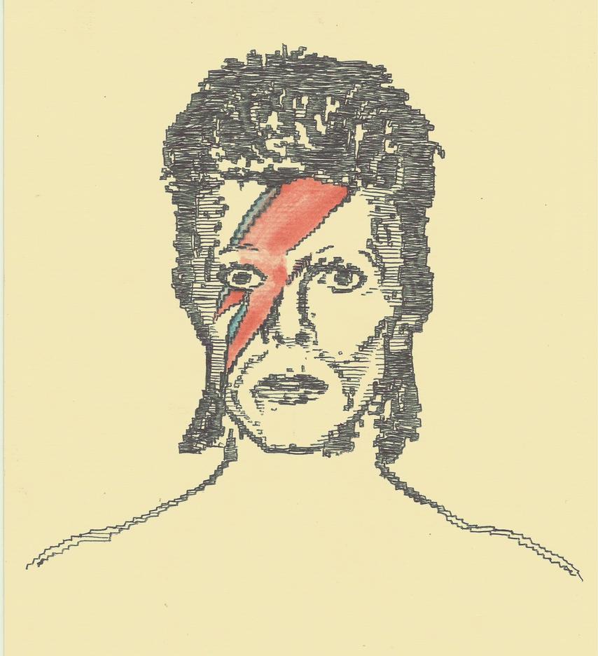 David Bowie by PedroAcedina